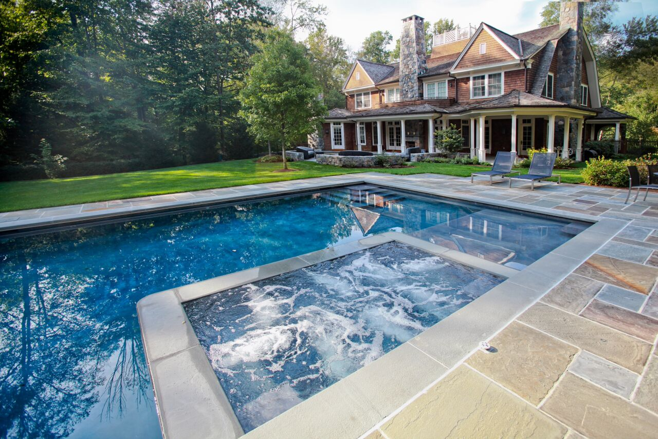 Top custom pool designs in connecticut custom swimming pool - Best backyard swimming pool designs ...