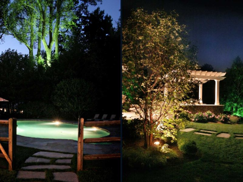Benefits of Landscape Lighting Design in Connecticut