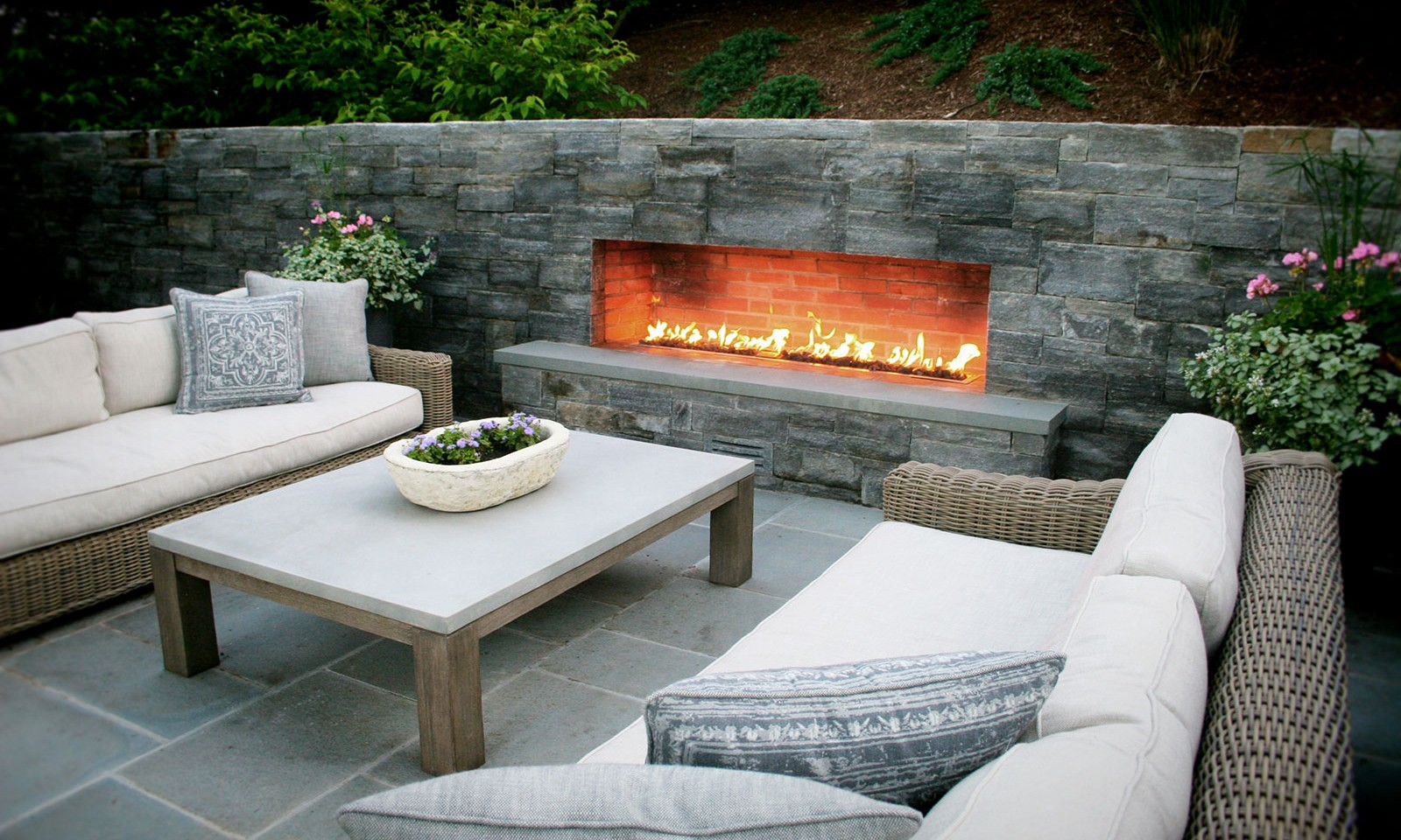 Outdoor Fireplace Masonry
