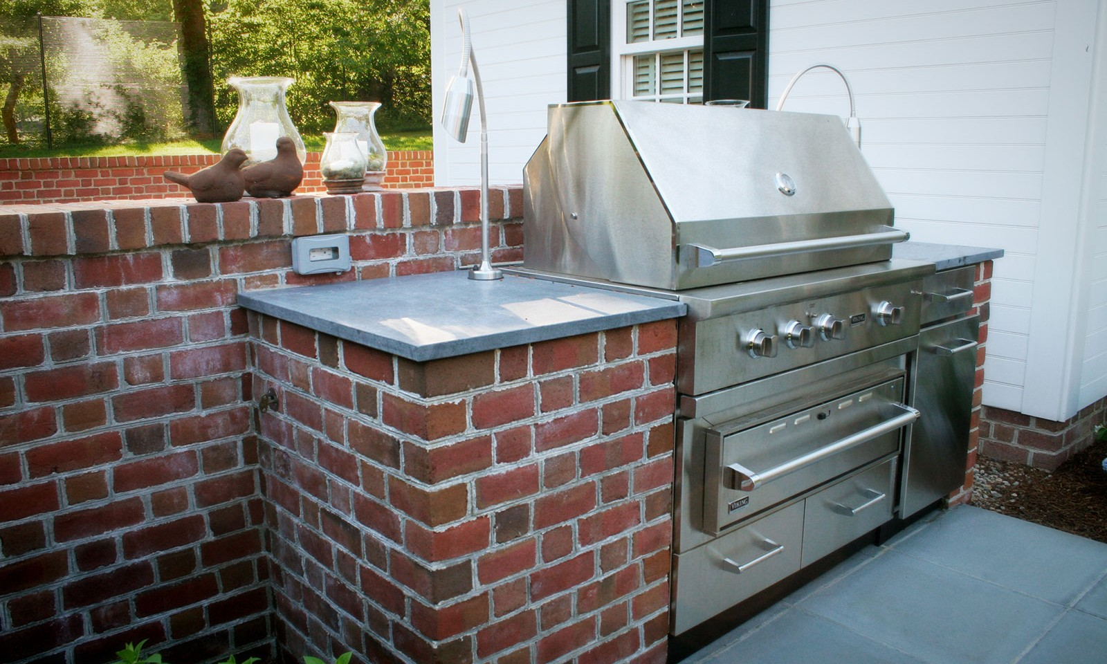 Outdoor Grill Stonework
