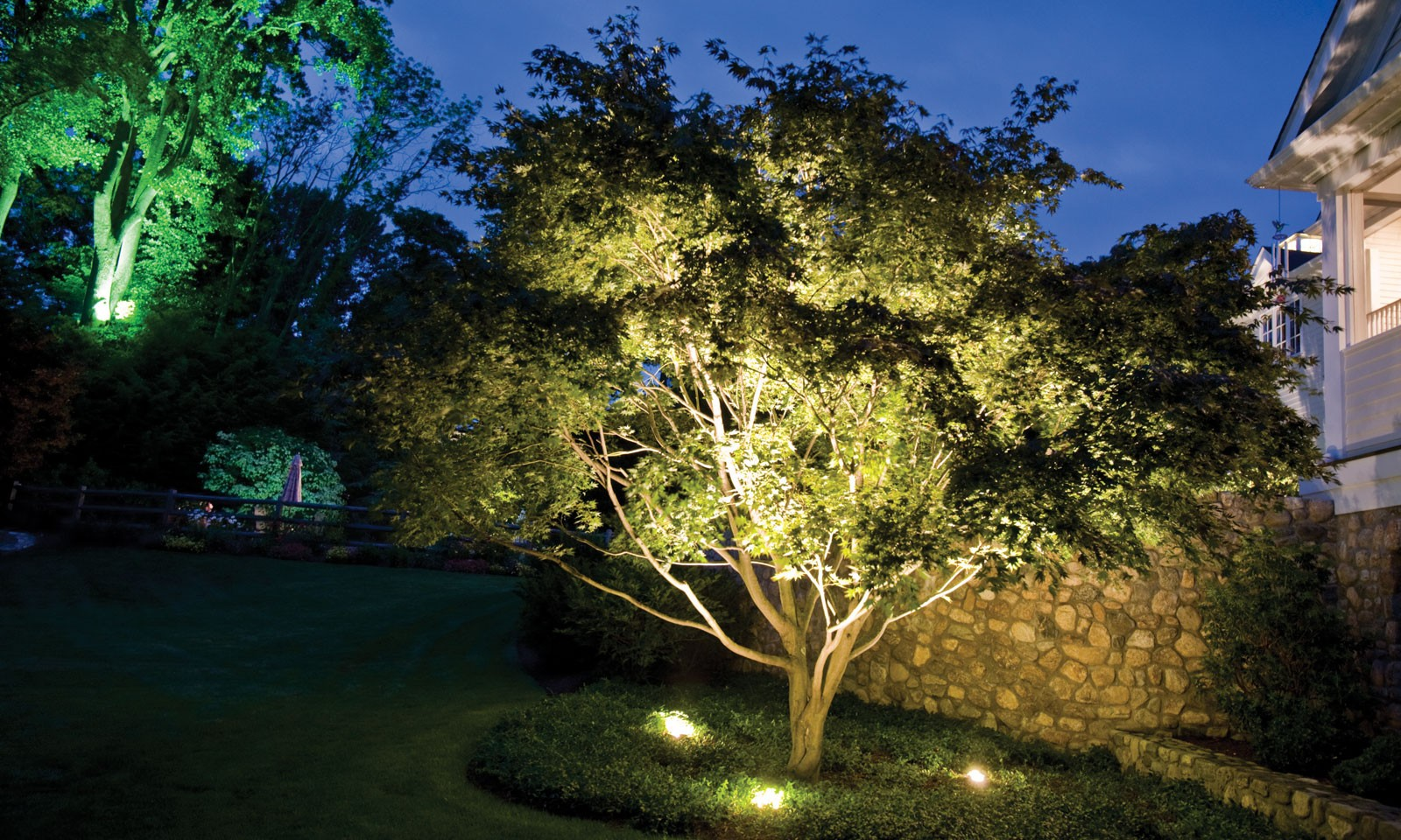 Connecticut Landscape Lighting