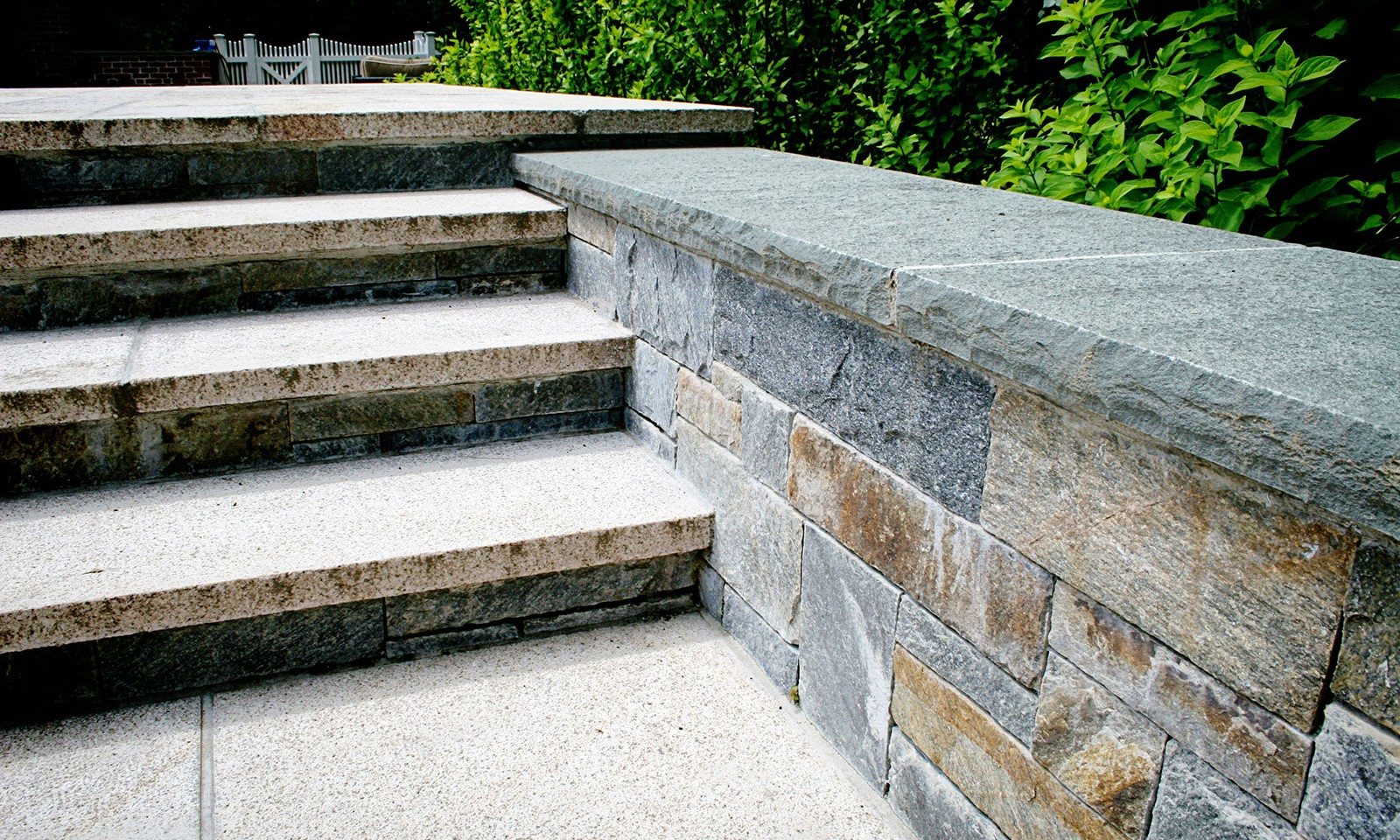 Outdoor Stone Stairs