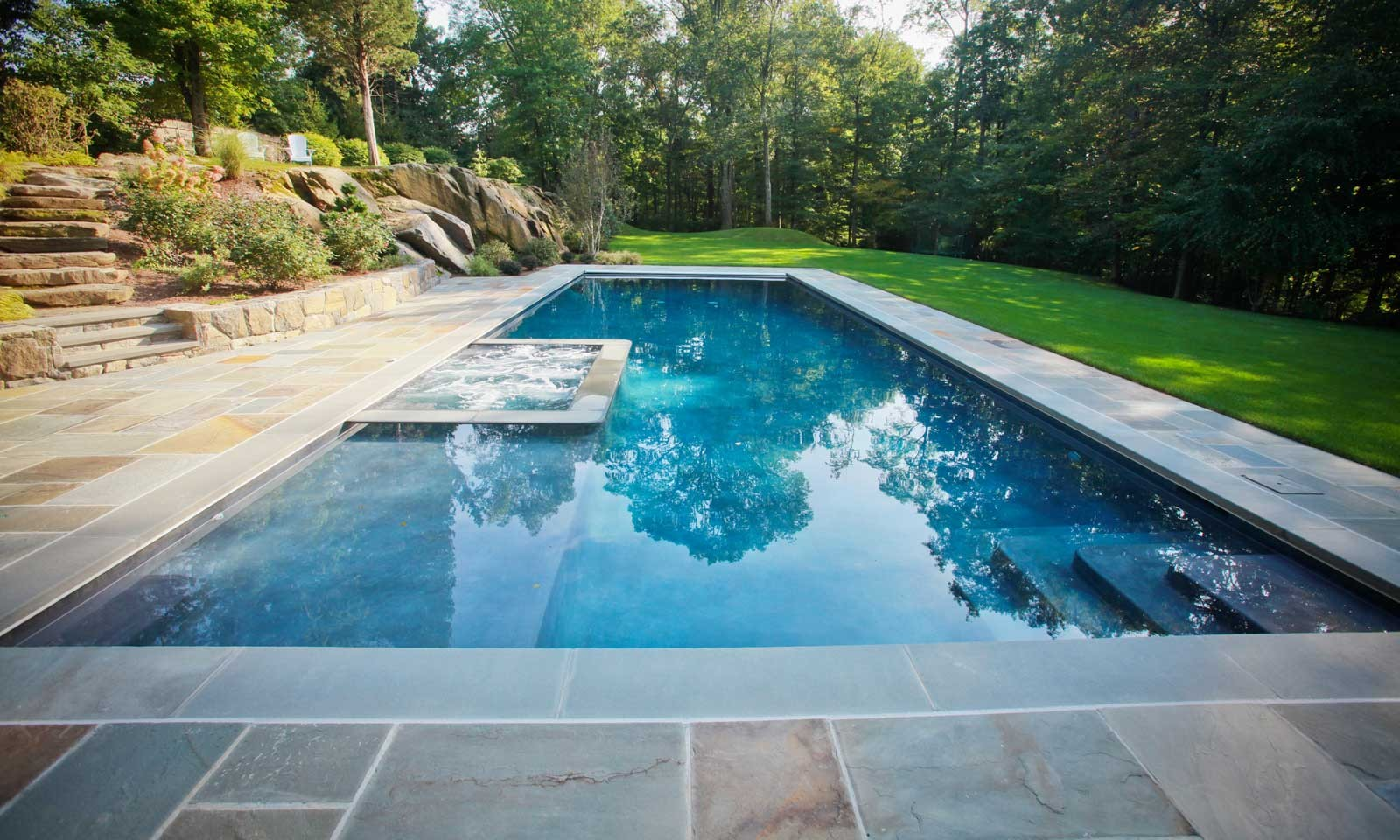 Custom In ground Pool Designs