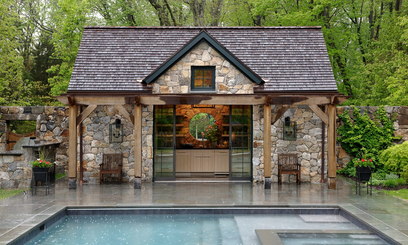 Custom Pool House Design
