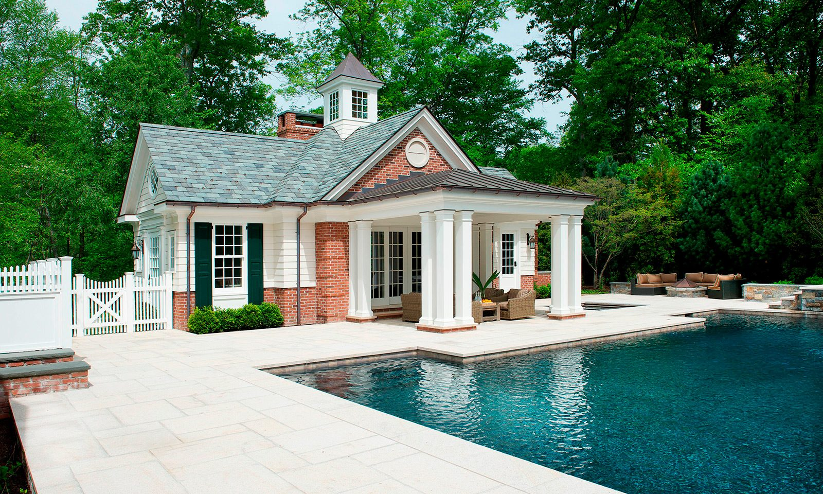 Stately Pool House